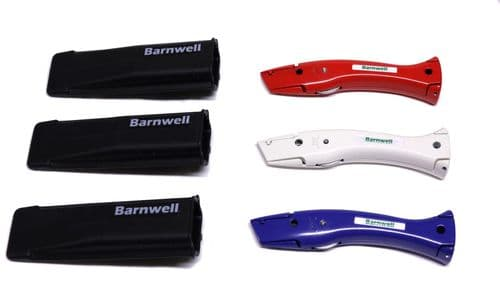 Barnwell Set of 3 Red White Blue Dolphin Knives